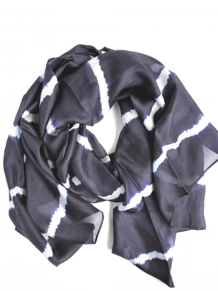 Tho Tie Dyed Silk Scarf**