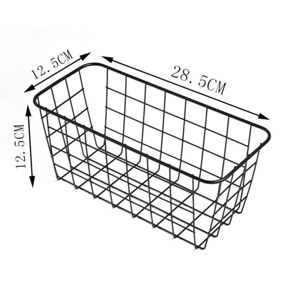 Grid Iron Wall Rack