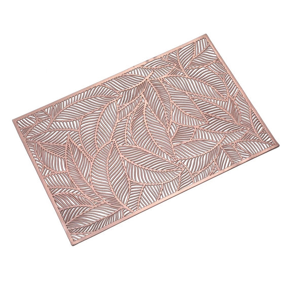 Leaf Patterned Placemats