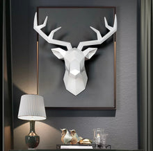 3D Deer Head Wall Mount