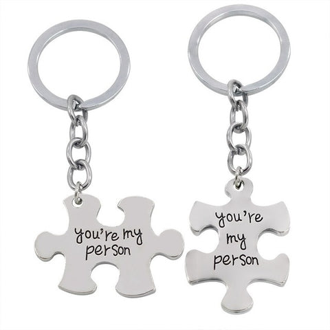 Porte-Clés Couple Puzzle My Person