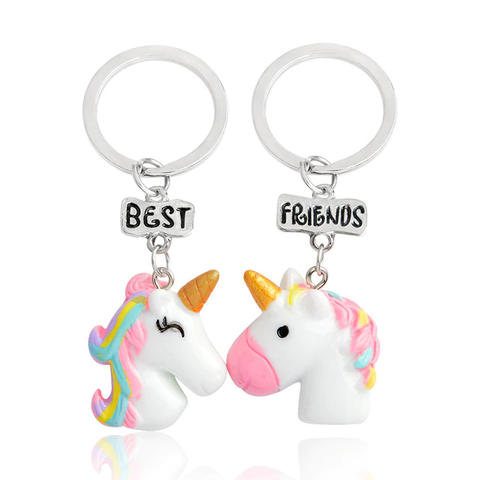 Porte-Clés Licorne Best Friends