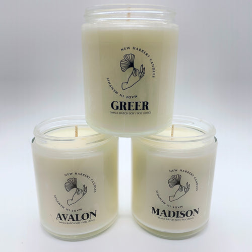 Classic Best Sellers Gift Set - 3 Homemade Candles