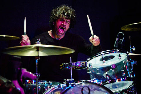 Joey Castillo playing the drums