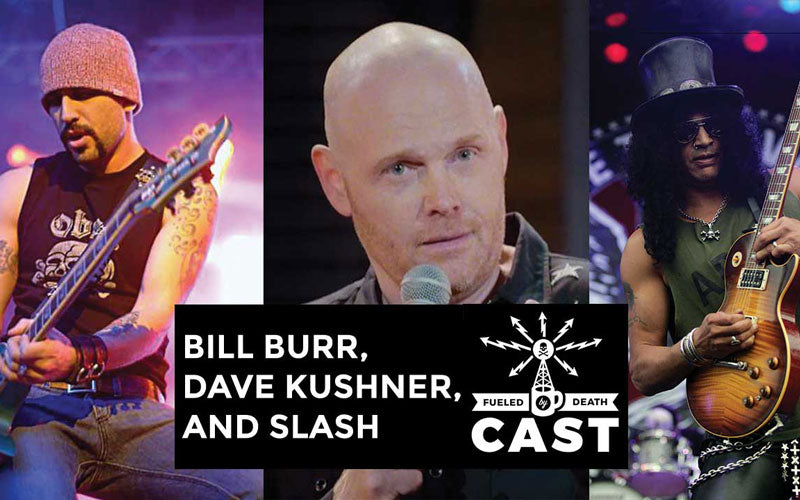 Bill Burr, Dave Kushner, Slash performed together on stage ...