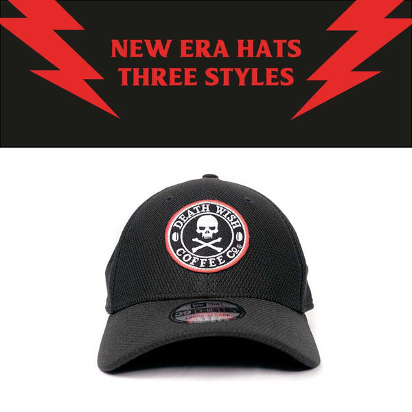New Era Hats, Three Styles from Death Wish