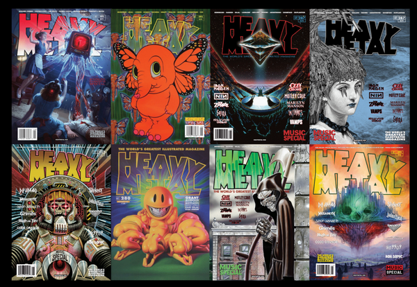 Heavy Metal Magazine Giveaway Death Wish Coffee Company