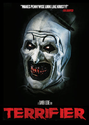 Movie poster for the Terrifier