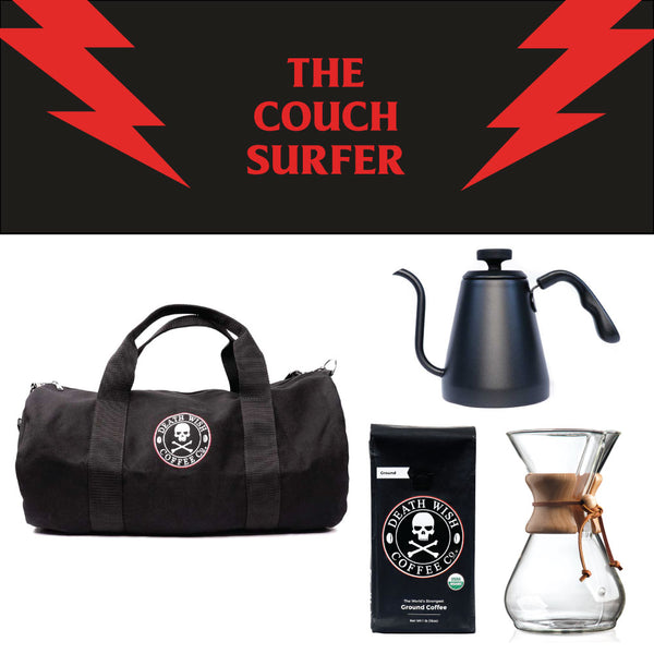 Death Wish's The Couch Surfer bundle