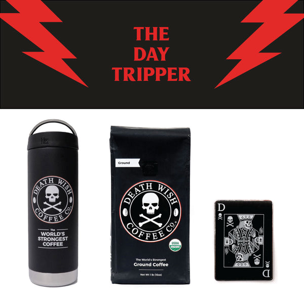 Death Wish's The Day Tripper gift bundle