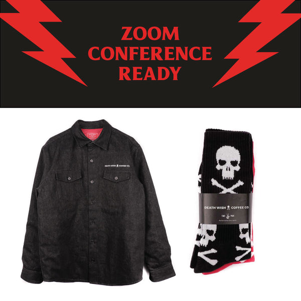 Death Wish's Zoom Conference Ready gift bundle