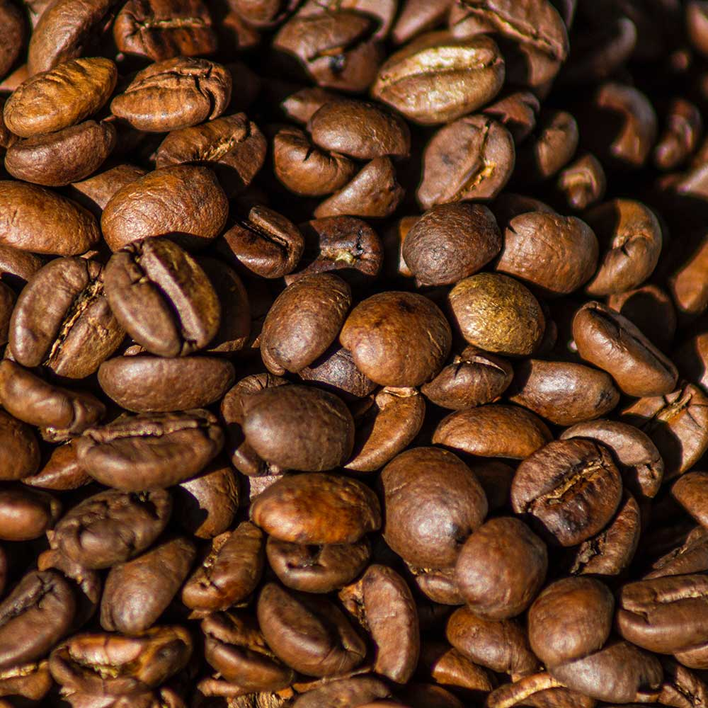 An image of robusta coffee beans.