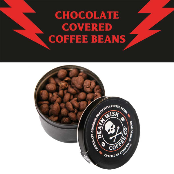 Death Wish Chocolate Covered Beans