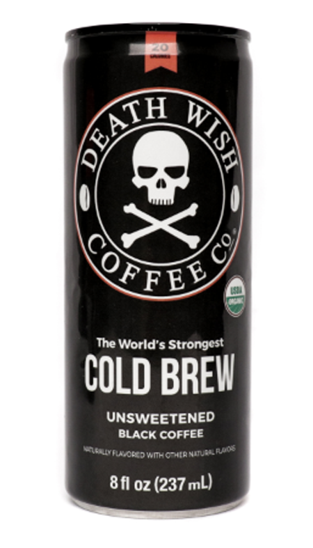 deathwish coffee cold brew black