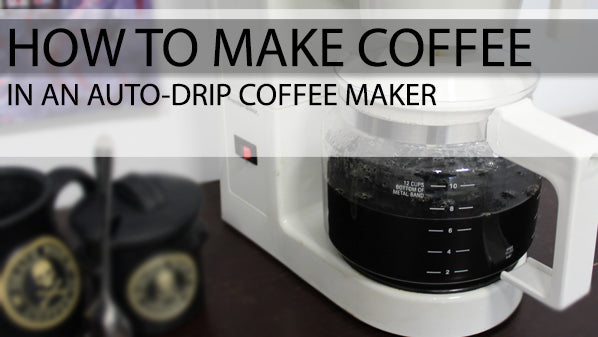How to make coffee in a coffee maker 4 easy steps How to make coffee with a coffee maker
