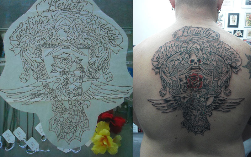 """We interviewed the man with the famous """"Rose Tattoo"""" in the Dropkick M - Death Wish Coffee Company"""
