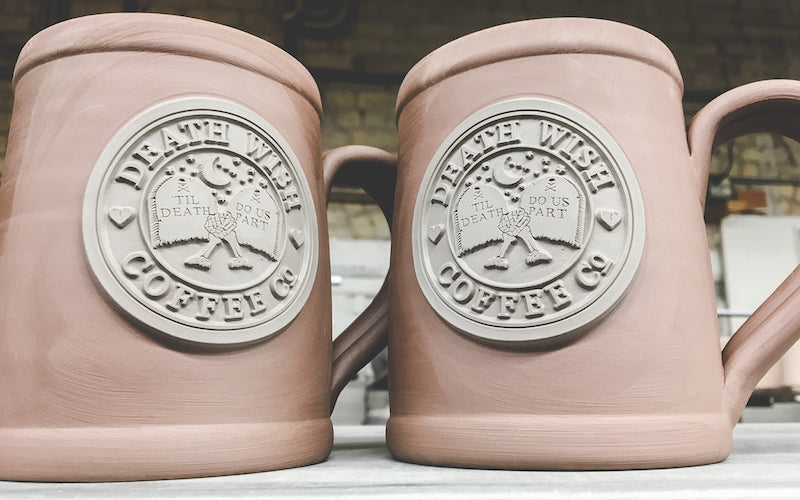 related every single deneen pottery mug death wish coffee has ever made - Valentines Day Mugs