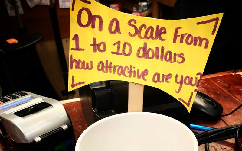 Clever Tip Jar Signs Death Wish Coffee Company