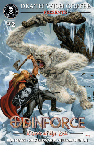 Curse of the Yeti Cover