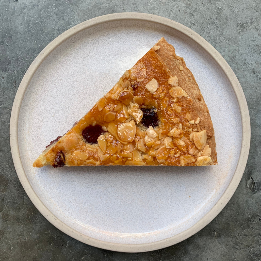 Almond & Cherry Tart