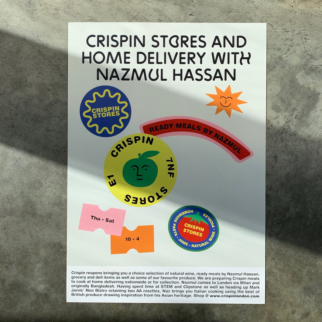 Crispin Poster A3