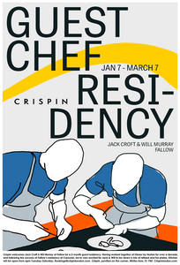 Crispin Chef Residency - Will Murray & Jack Croft (Fallow)