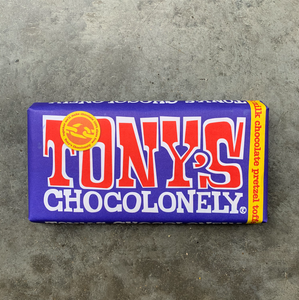 Tony's Chocolonely 180g - Milk Chocolate Pretzel Toffee