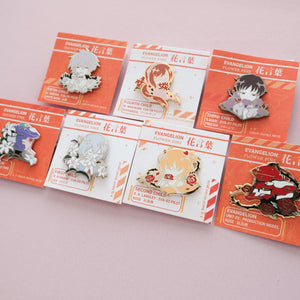 [DISCOUNTED] B-Grade Evangelion Pins