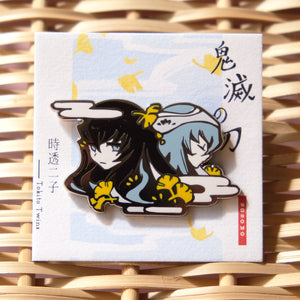 Demon Slayer -  Tokito Twins Enamel Pin