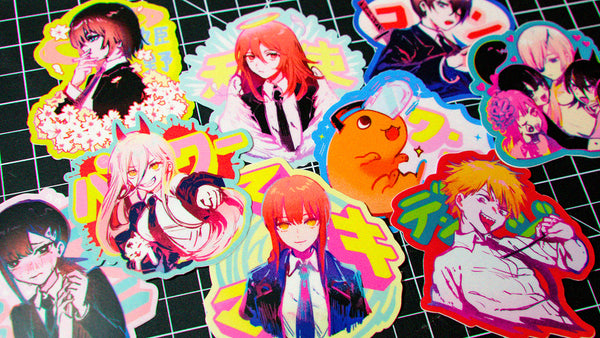 Chainsaw Man - Full Sticker Set