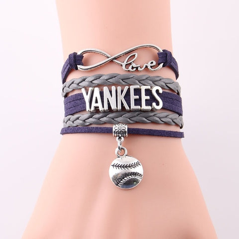 New York Yankees bracelet MLB sport baseball team charm Bracelets & Bangles -  amazon-usa 2020