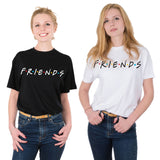 2019 Summer Women T Shirt FRIENDS Letter Print Friends T-shirt Casual Short Sleeve Tops Tee O Neck Female Tops Camisetas Mujer -  amazon-usa 2020