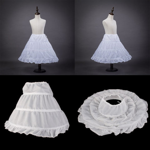 Flower Girl Crinoline Petticoat for Children Kids Girls + Pearl Headband -  amazon-usa 2020