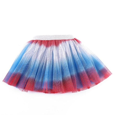 2019 New Children Wear Girls Princess Layered Rainbow Gradient Mesh Skirts Tutu Ballet Skirt Party Dancewear -  amazon-usa 2020