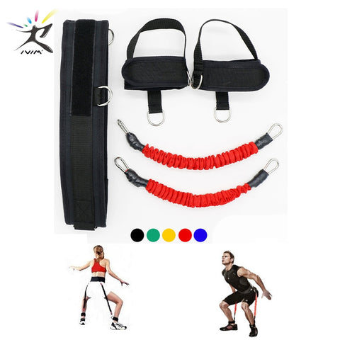 Fitness Bounce Trainer Rope Resistance Bands Exercise Equipment Basketball Tennis Running Leg Strength Agility Training Strap -  amazon-usa 2020