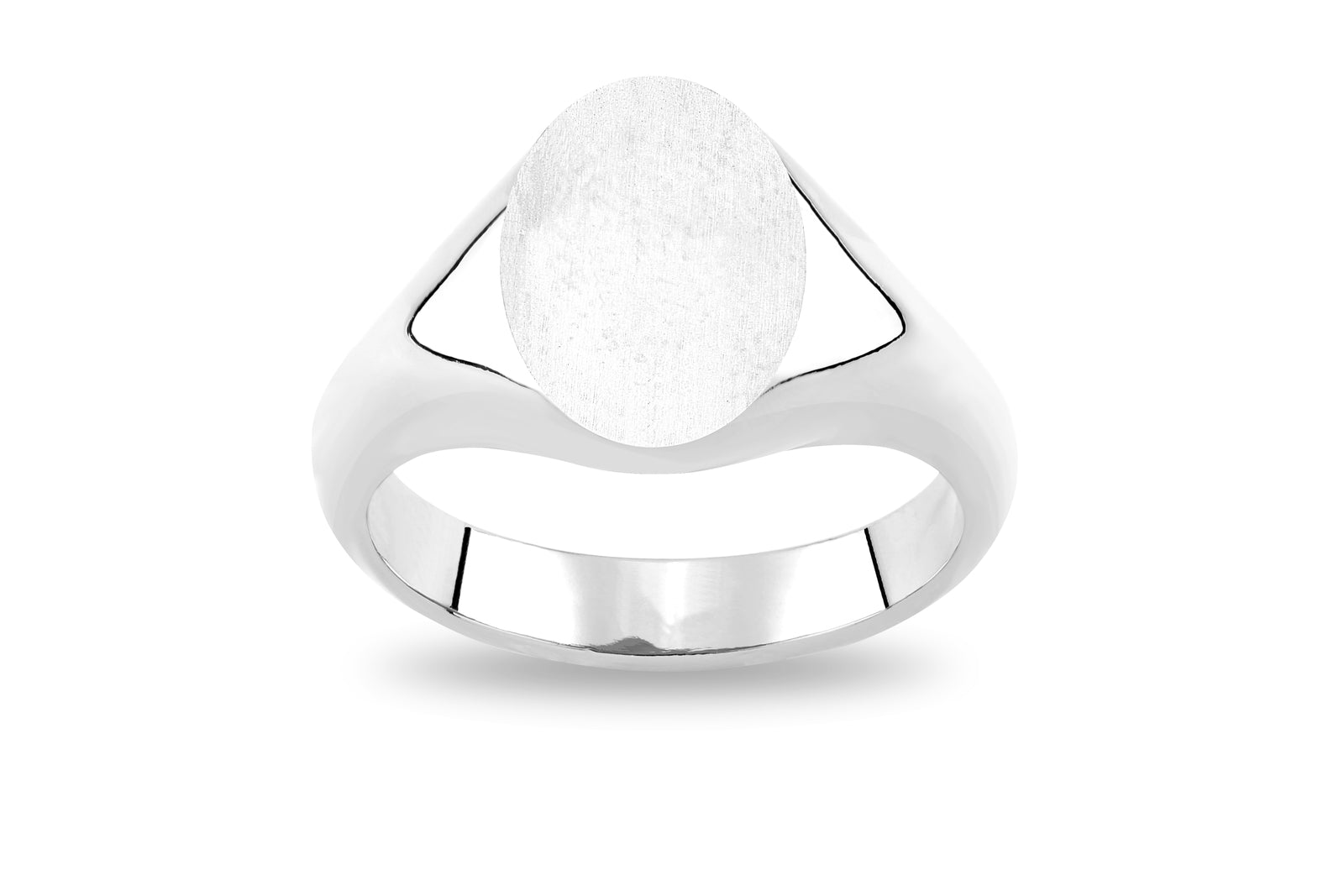 SILVER CLASSIC SIGNET RING