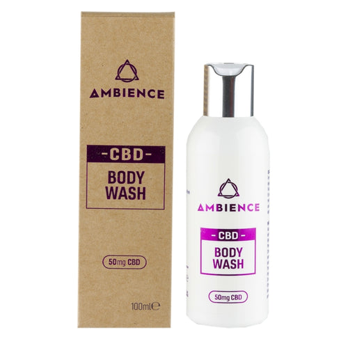 Ambience CBD Infused Body Wash | CBD Shower Gel | 50mg CBD