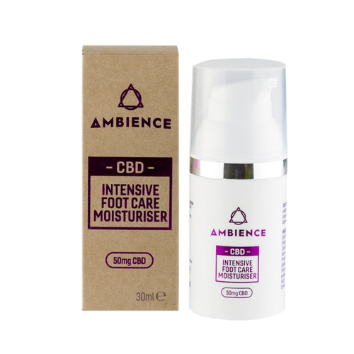 Intensive foot care with CBD | CBD Moisturiser for Feet