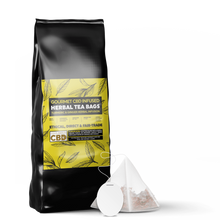 Load image into Gallery viewer, CBD Tea | CBD Infused tea bags shop online in the UK