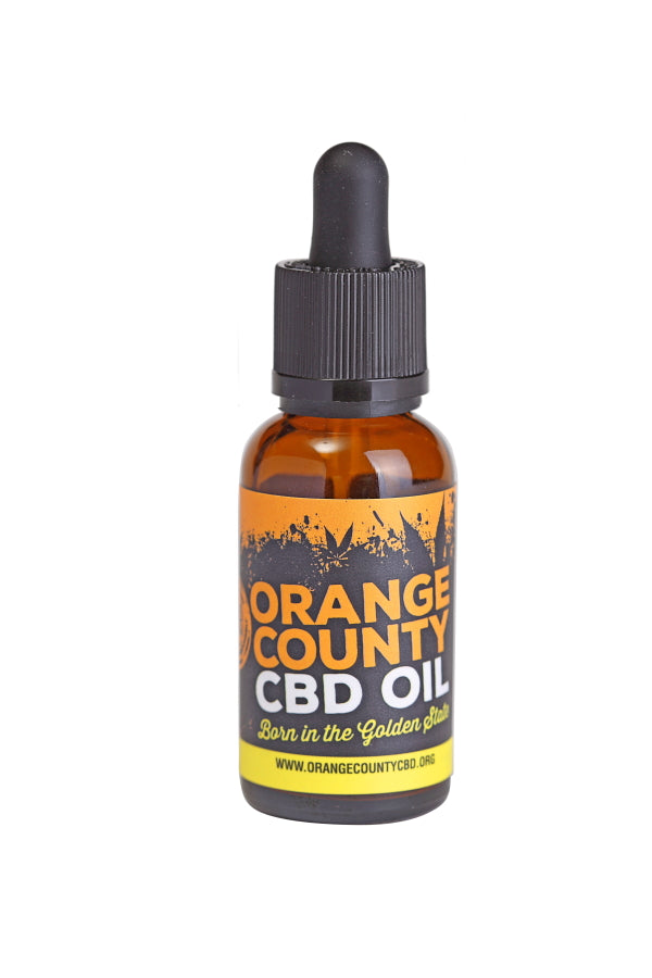 Orange County CBD | 500mg 30ml | Best feeling UK CBD