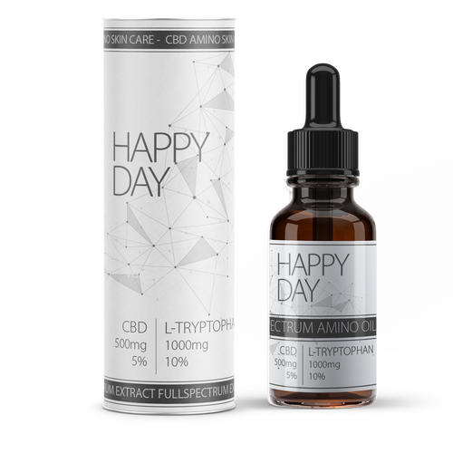 Happy Day CBD infused and blended amino acid | CBD uk Happy