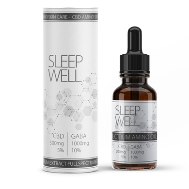 Sleep Well CBD oil | CBD drops to aid sleep | Best feeling UK CBD Store