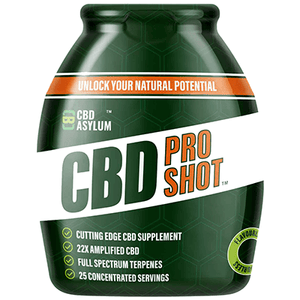 CBD Pro Shot (Water Soluble) Mix with any drink