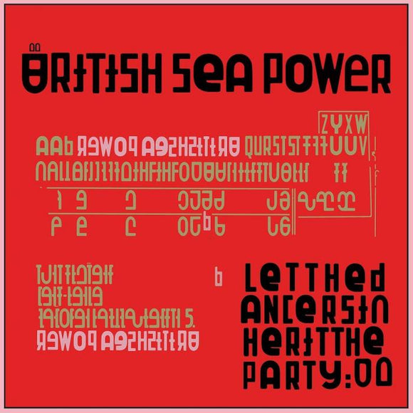 BRITISH SEA POWER Let The Dancers Inherit The Party LP