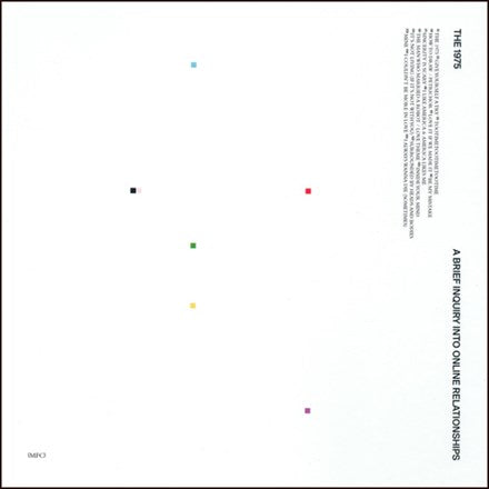 THE 1975 A Brief Inquiry Into Online Relationships 2LP SET