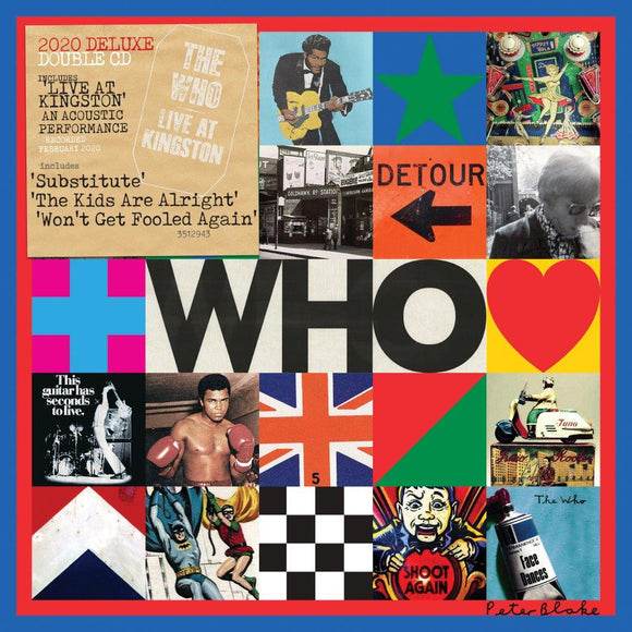 THE WHO 'WHO' 2020 Deluxe 2CD SET with Live At Kingston