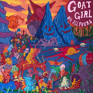 GOAT GIRL On All Fours 2LP SET transparent Pink Vinyl INDIE EXCLUSIVE