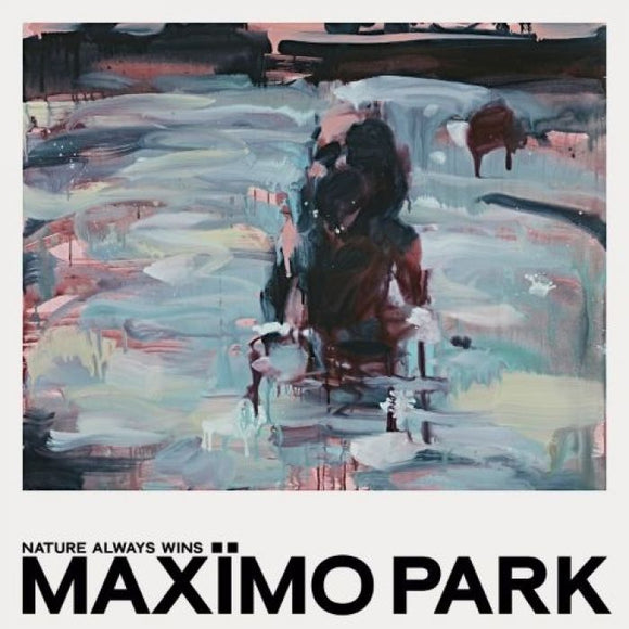MAXIMO PARK Nature Always Wins LP Clear Turquoise Vinyl