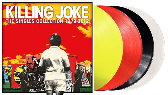 KILLING JOKE The Singles Collection 1997 - 2012 4LP Colour Vinyl