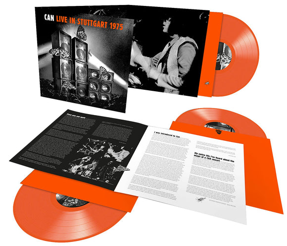 CAN Live Stuttgart 1975 3LP Orange Vinyl